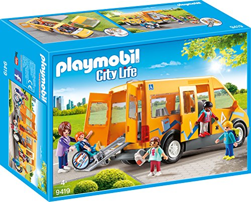 PLAYMOBIL 9419 School Bus - New 2018