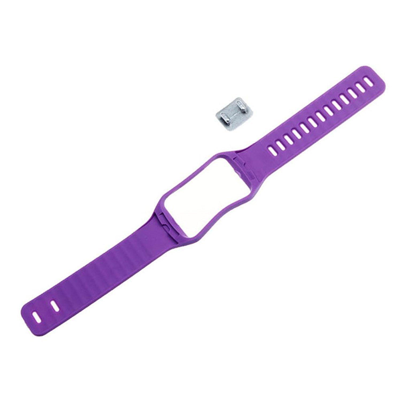 リストバンド – TOOGOO ( R )交換用時計手首ストラップリストバンドfor Samsung Galaxy Gear S r750カラー:パープル  B01LZRR8YA