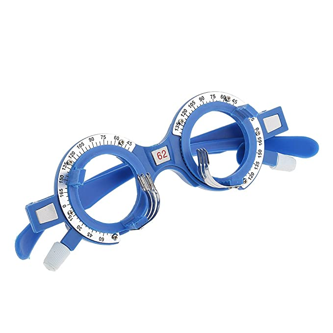 MagiDeal Struttura di Ottica di Prova di Plastica Ottico Lens Telaio Optometria Occhiali Ottico Occhiali da Vista Attrezzatura - Multicolore, 54mm