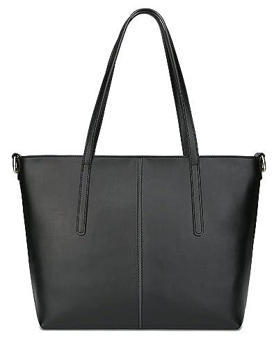 f2527d0d36f Ilishop Leather Handbag for Women Large Shoulder Bags Totes