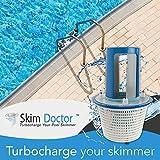 SkimDoctor 2.0 Pool Skimmer Basket Turbocharger