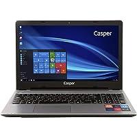 Casper C300.3710.4L05E 15.6 inç Dizüstü Bilgisayar Intel Pentium 4 GB 500 GB Intel HD Windows 10, Gri