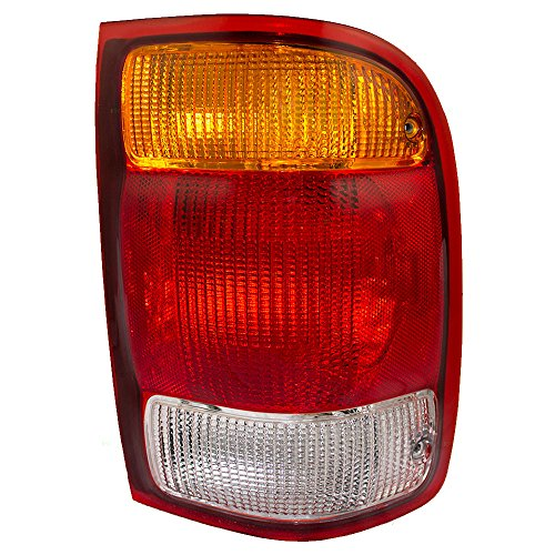 Passengers Taillight Tail Lamp Replacement for Ford Pickup Truck - New Ford Tail Lamp Ranger