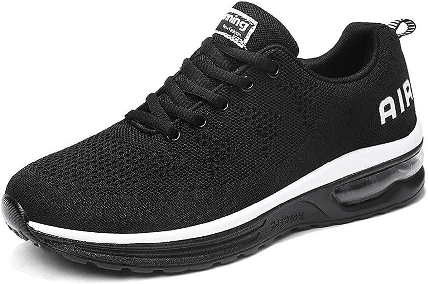 Hombre Mujer Zapatillas de Deportes Zapatos Deportivos Aire Libre para Correr Calzado Sneakers Running 34-46EU: Amazon.es: Zapatos y complementos