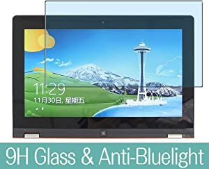 """Synvy Anti Blue Light Tempered Glass Screen Protector for Lenovo Yoga 11s 11.6"""" Visible Area 9H Protective Screen Film Protectors (Not Full Coverage)"""