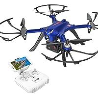 DROCON Bugs 3 Drone quadricoptère à Moteur sans balais, pour Les débutants et Les Experts, Supporte la caméra Gopro HD 4K, Durée de Travail de 18 à 20 Minutes et Plage de Commande de 300 mètres, Bleu