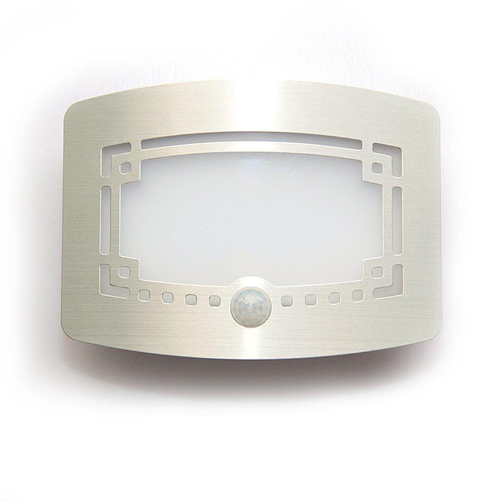 LJM New Led Sensor Motion Rechargeable Night Light Stick Anywhere for Inside Indoor Outside Kids