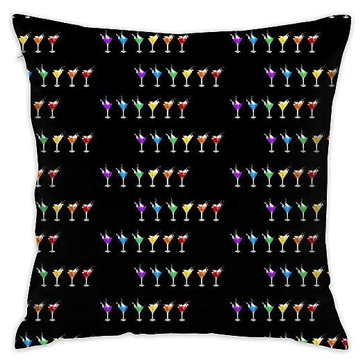 DIY Pillow Covers Funda de Almohada Cuadrada Decorativa de ...