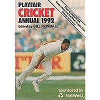 Playfair Cricket Annual 1992