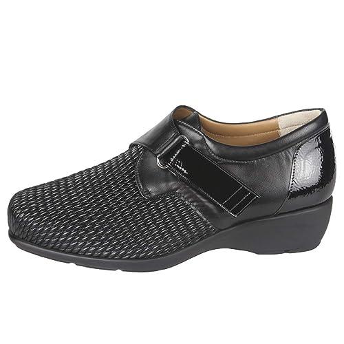 ALVIFLEX Zapato Mujer Anchos Especiales con la Pala