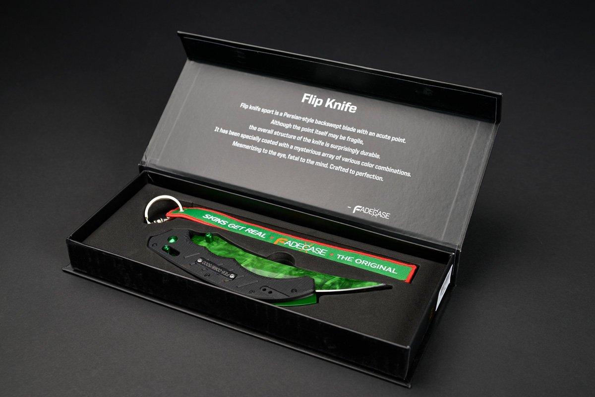 fadecase Flip Elite - Verdaderos Cuchillos de Acero La ...
