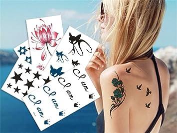LILY20 impermeable no tóxico tatuaje temporal stickerslatest nuevo ...