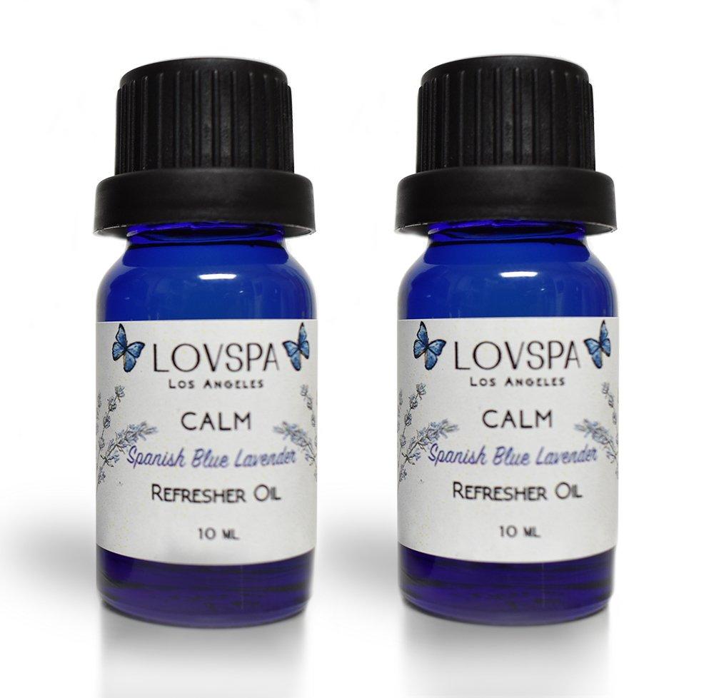 lovspa Potpourriリフレッシャ LOVSPA-REFRESHER-CALM B079NPXJL3 Spanish Lavender (Calm)