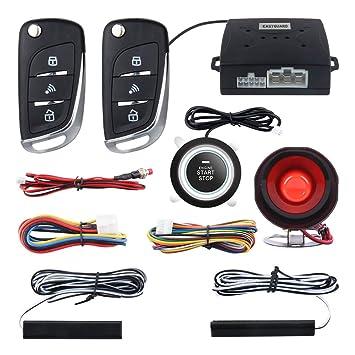 Easyguard EC003N-V Sistema de Alarma de Seguridad para Coche ...