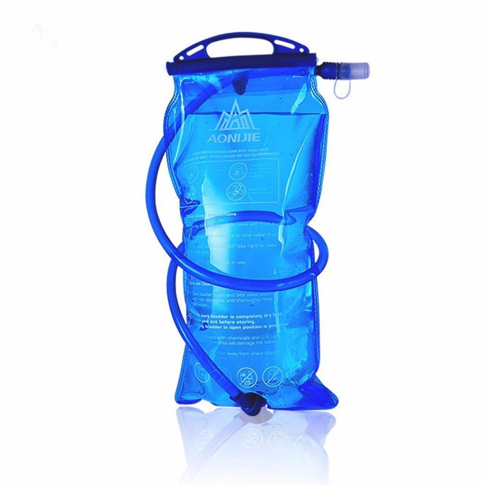 AONIJIE Bolsa de hidratación para Mochila de Senderismo, Sistema de hidratación con Reserva de Agua para 1l, 1,5l, 2l y 3l, de la Marca