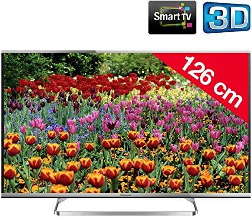 Panasonic TX 50 as650e – Televisor LED 3d Smart TV + Cable HDMI – 24 de karätig Dorado, 1,5 m – – swv3 432ws/10 + Soporte mural STILE S800 – Negro + cubierta Stile Line Cover Double: Amazon.es: Electrónica