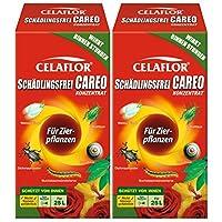 Celaflor Schädlingsfrei Careo Konzentrat Zierpflanze, Vollsystemisches Mittel mit schneller und breiter Wirkung gegen Blattläus, Zikaden, Weiße Fliege, Raupen, Käfer, Buchsbaumzünsler, 500 ml