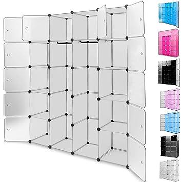 Amazon De Regalsystem 20 Boxenfacher Steckregal Kleiderschrank Diy