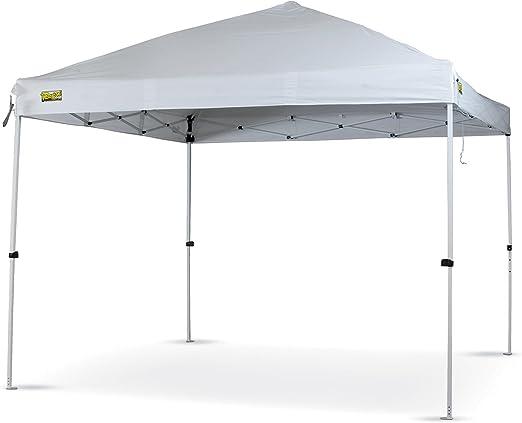 Cenador jardín blanco rápido 3 x 3 mt Berto cortina plegable plegable Camping: Amazon.es: Jardín