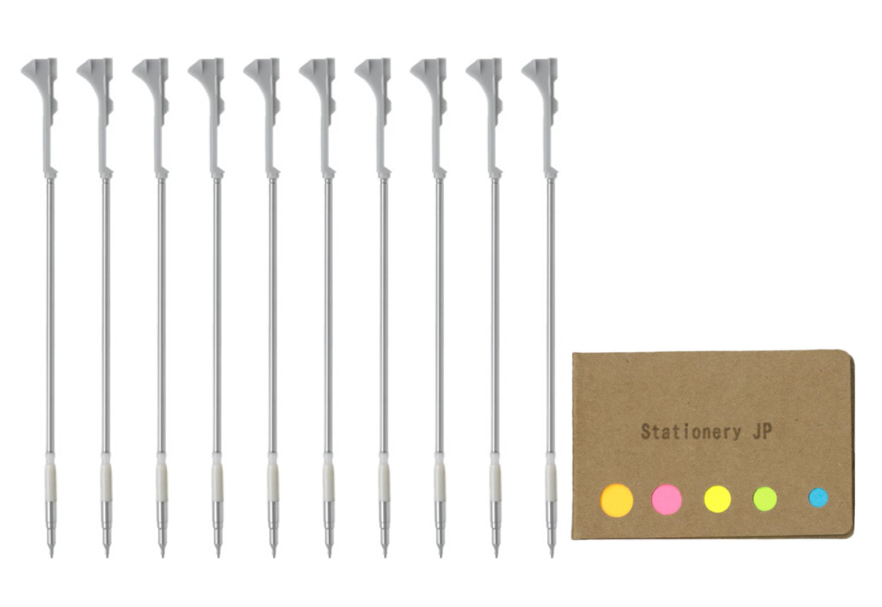 Pilot Hi-tec-c Coleto, Mechanical Pencil Unit for 0.5mm Lead, 10-pack, Sticky Notes Value Set
