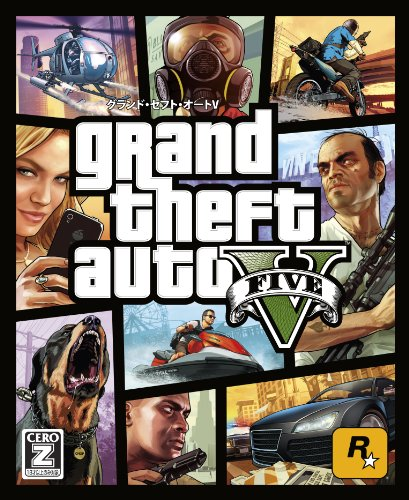 "Grand Theft Auto V [CERO rating ""Z""] benefits (DLC Tigershark money card, etc.) included from japan"