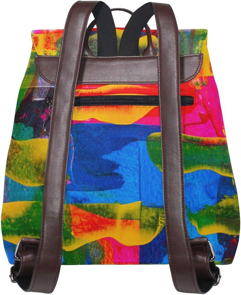School Bag Travel Bag Backpack Shopping Bag Storage Bag For Men Women Girls Boys Personalized Pattern Abstract Art