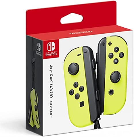 Nintendo Switch Joy-con Controller Set Amarillo Mando de Juego ...