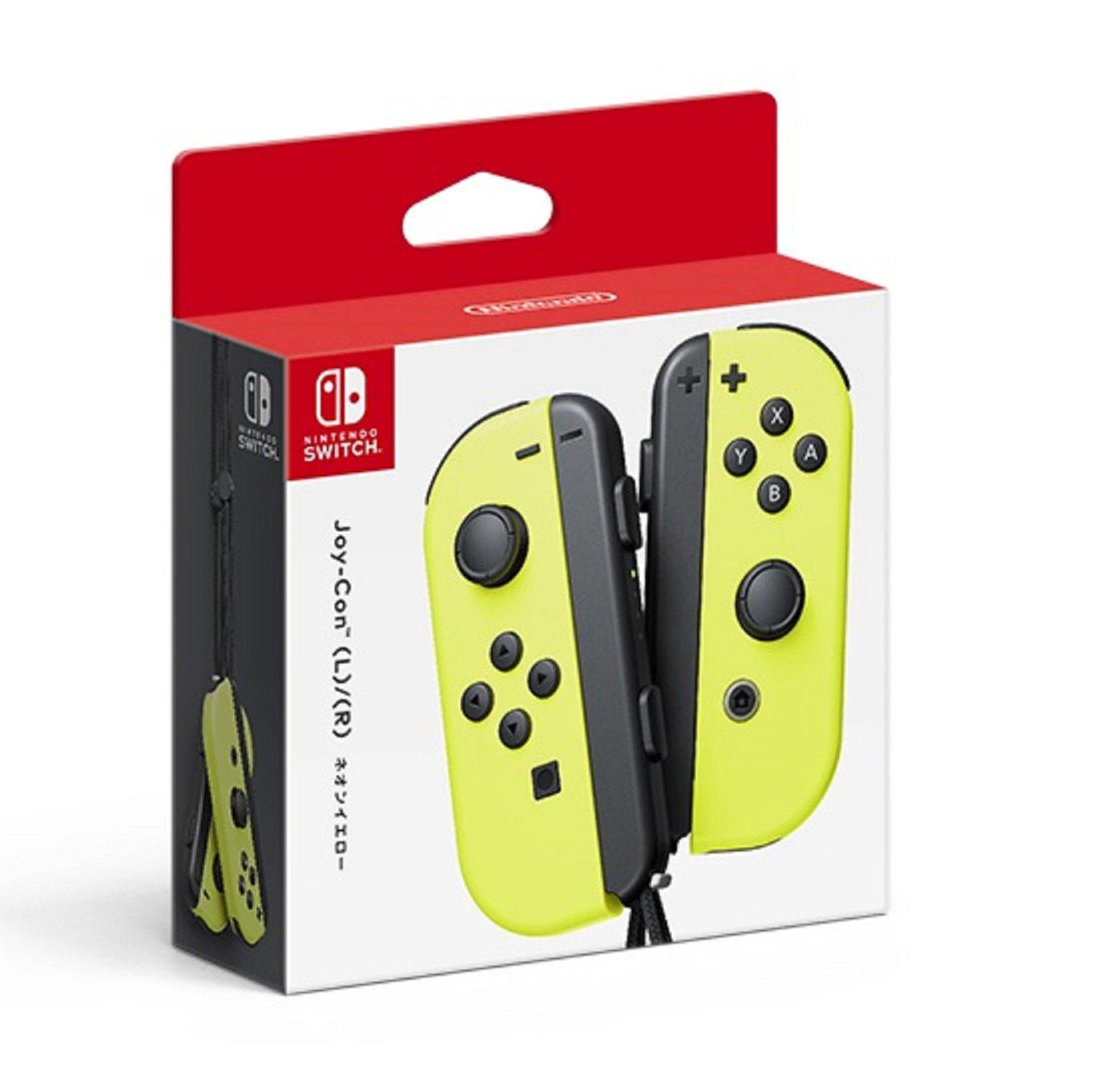Nintendo Joy-Con (L/R)-Neon Yellow (Japan Import)