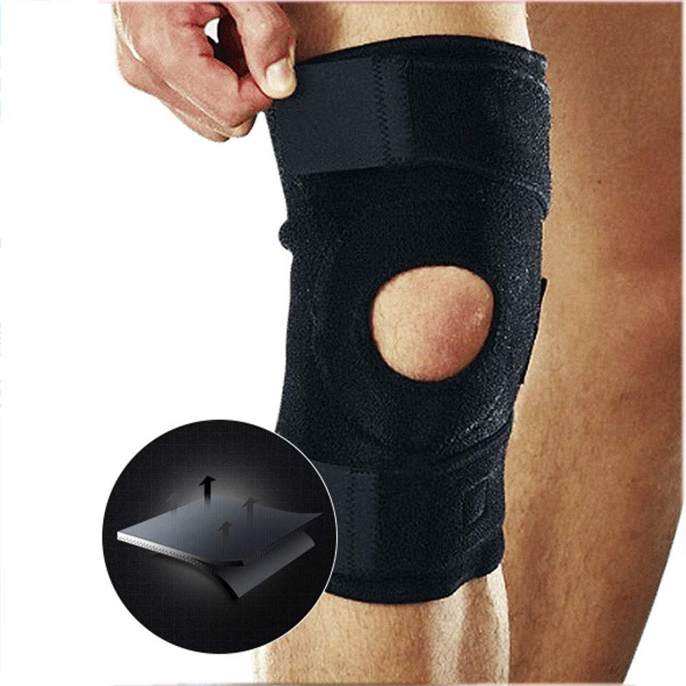 ZCF Basketball Badminton Running Sports Soccer Knee Injuries Men and Women Warm with Meniscus Knee Protectors (Color : G)