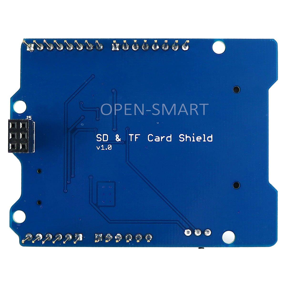 HiLetgo Stackable SD Card and TF Card Shield for Arduino UNO