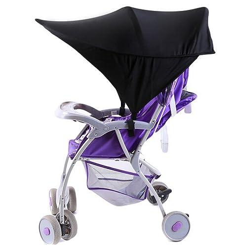 ODN universal Toldo, toldo, Capota, protección solar con protección UV para carrito y
