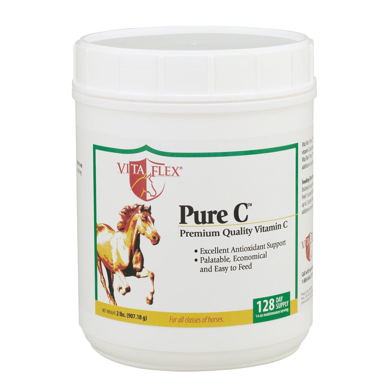 Vita Flex Pure C Premium Quality Vitamin C, 128 Day Supply, 2 Pounds