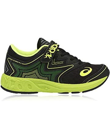 SNEAKERS ASICS GEL noosa PS gel NYLON NERO/VERDE FLUO