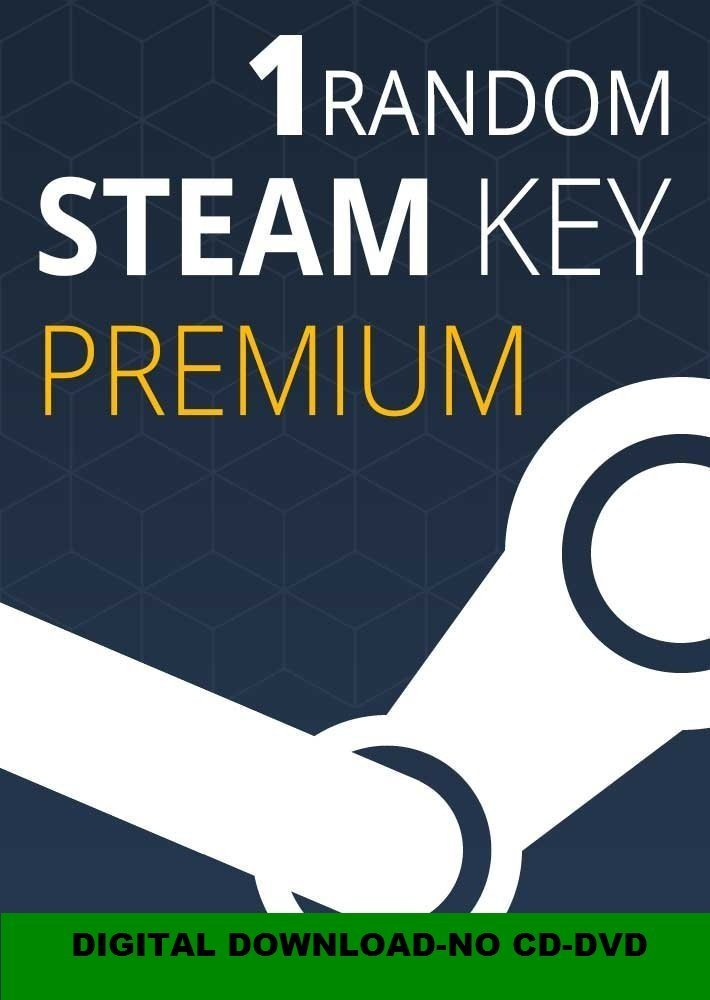 Amazon price history for 1 Random Steam Premium CD-Key (PC)
