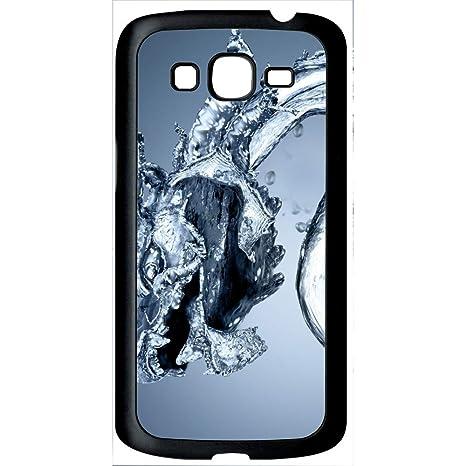 Carcasa Samsung Galaxy Grand 2 Dragon efecto agua: Amazon.es ...