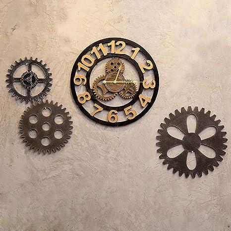 XIPI Reloj de Pared Decorativo Reloj de Pared Colgado en la ...