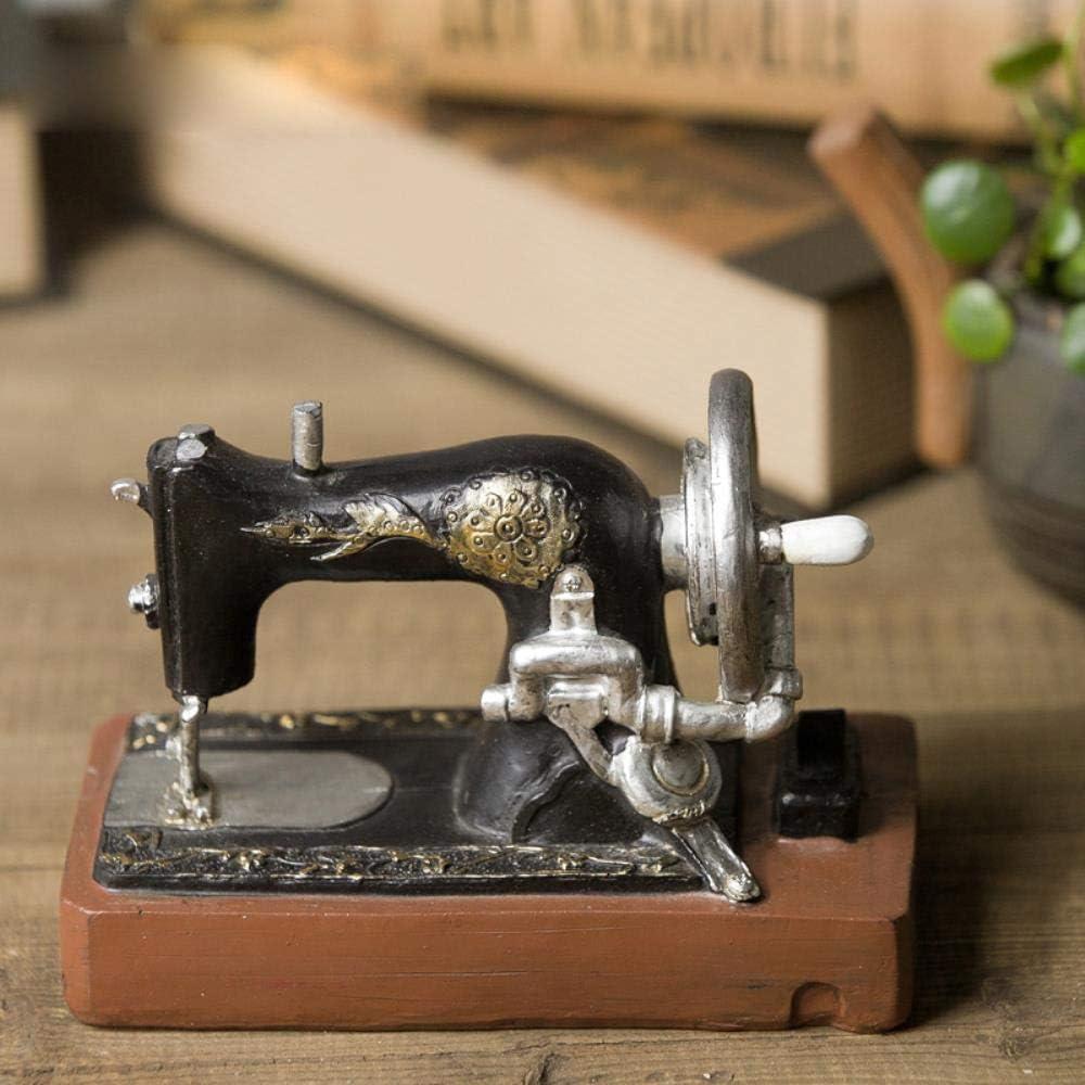Retro do antigua máquina de coser sala de estar decoración resina ...
