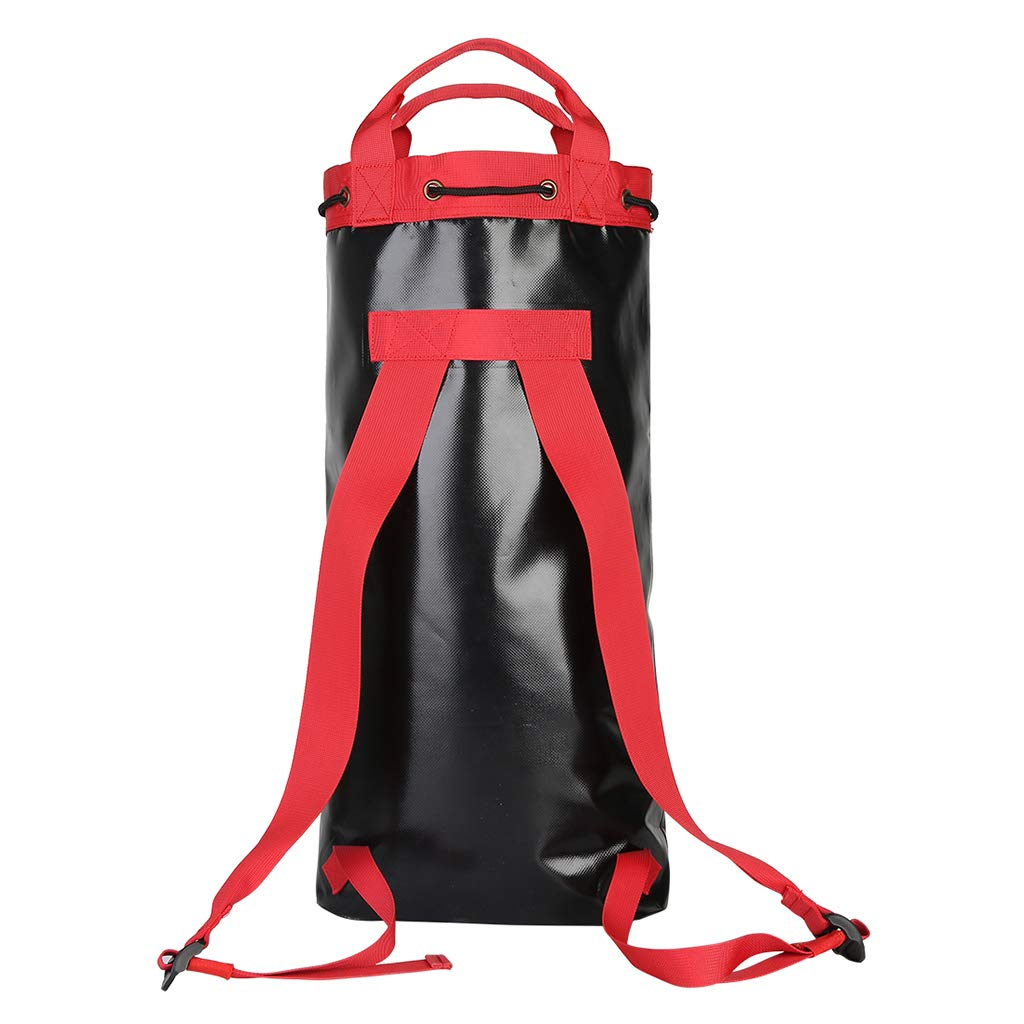 P Prettyia Mountaineering Rock Climbing Rope Storage Bag Backpack Drawstring Pouch
