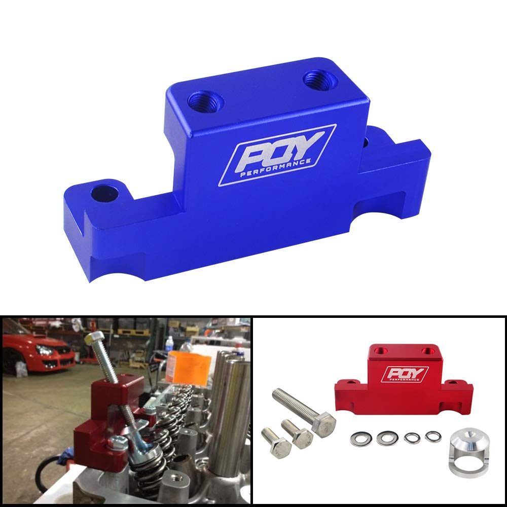 PQYRACING Valve Spring Compressor Tool Removal Compatible for Honda Acura K Series K20 K24 F20C F22C