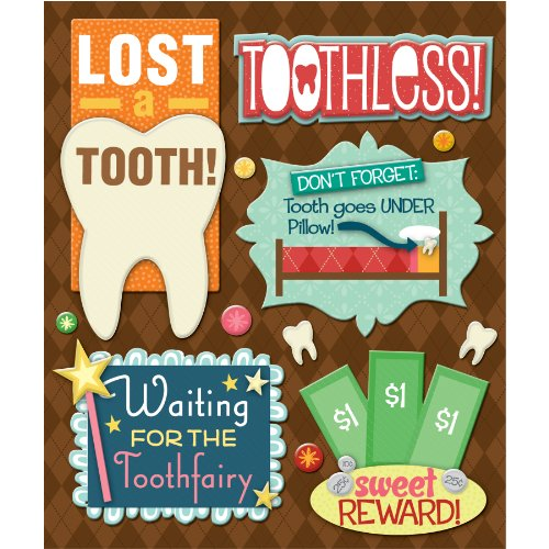 K&Company Losing a Tooth Sticker Medley