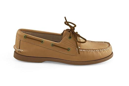Men's Bayana Boat Shoe- Almond
