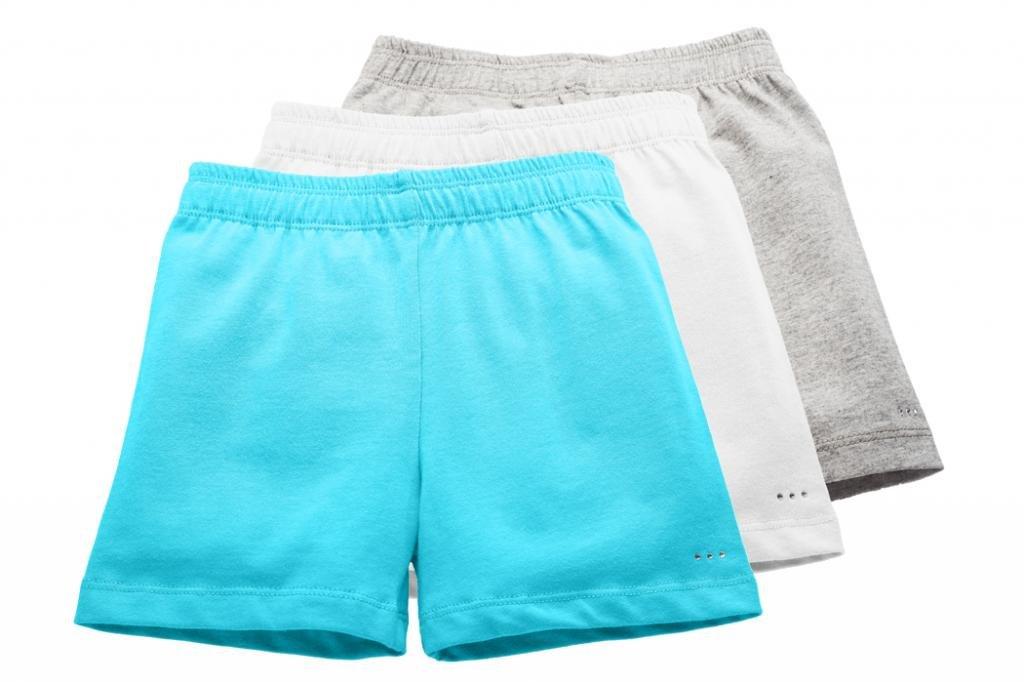 Sparkle Farms Little Girls Under Dress and Skirt Modesty Shorts, 3-pack, Sz 3-12