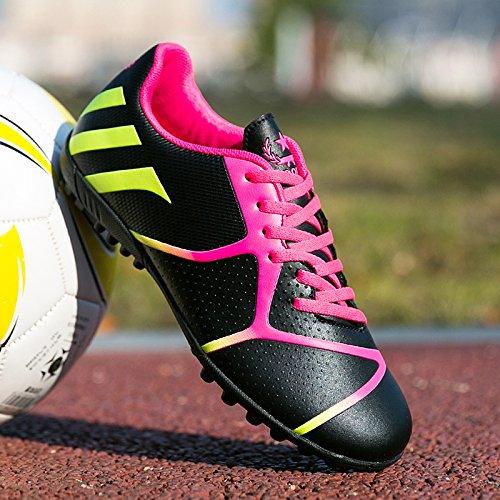 Xing Lin Chaussures De Football New GirlS Chaussures De Football Broken Nails Gazon Artificiel De LAntidérapage Porter Petite Cour Pour LÉlève La Formation Des Chaussures, 40 Cour Standard 25Cm, Ro