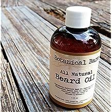 Beard Oil and Leave In Conditioner - Fragrance Free Beard Oil 4 oz - Handmade All Natural Beard Oil by Botanical Bars