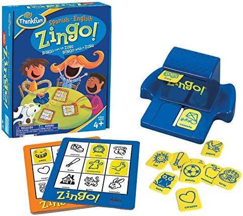 Thinkfun - Zingo Bilingüe (Inglés - Español): Amazon.es: Juguetes y juegos
