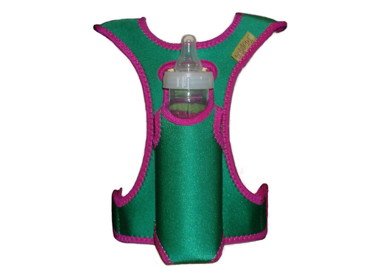 bobalong Bottle Holder, Burnt Red/Taupe BOB01
