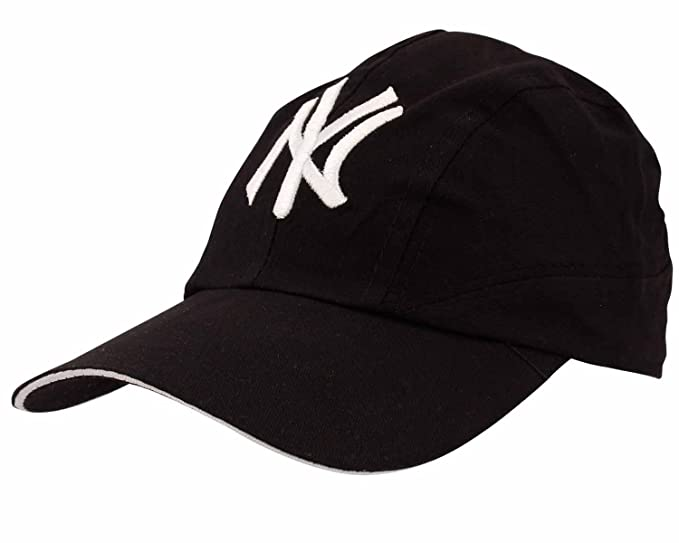 bff51f9f16f475 COPPERZEIT Trendy Black Hip Hop/Snapback NY Cap: Amazon.in: Clothing ...