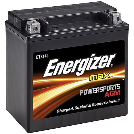 Amazon.com: Energizer ETX7L AGM - Batería para motocicleta y ...