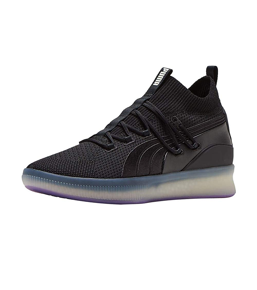 best service 57b0d b35ca Amazon.com | PUMA Mens Clyde Court Disrupt Black 11.5 ...
