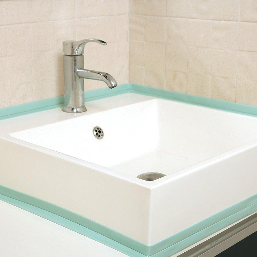 KaLaiXing Tub and Wall Caulk Strip. Kitchen Caulk Tape Bathroom Wall ...